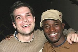 Wicked CD Signing - Stephen Oremus - Taye Diggs