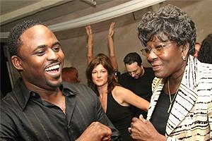Wayne Brady in Chicago - Wayne Brady - mom Valerie Peterson