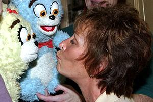 Judge Judy at Avenue Q - Judy Sheindlin - Bad Idea Bears (kiss)