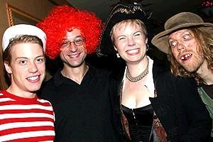 Avenue Q Halloween - Barrett Foa - Gary Adler - Jennifer Barnhart - Peter Linz