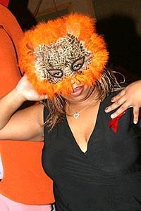 Avenue Q Halloween - Roz the usher