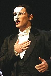 Phantom 7000th Performance - Hugh Panaro (onstage)