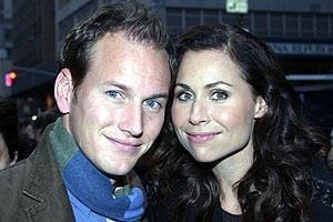 Phantom Film Stars at Bloomingdale's - Patrick Wilson - Minnie Driver