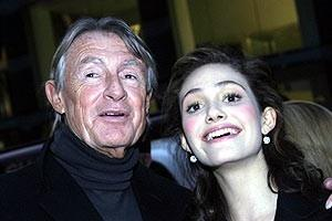 Phantom Film Stars at Bloomingdale's - Joel Schumacher - Emmy Rossum