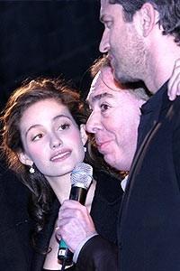 Phantom Film Stars at Bloomingdale's - Emmy Rossum - Andrew Lloyd Webber - Gerard Butler