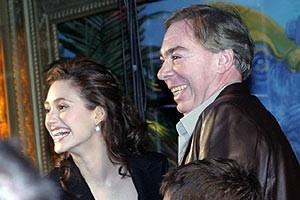 Phantom Film Stars at Bloomingdale's - Emmy Rossum - Andrew Lloyd Webber