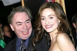 The Phantom of the Opera Movie Premiere - Andrew Lloyd Webber - Emmy Rossum