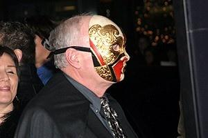 The Phantom of the Opera Movie Premiere - Phantom guy