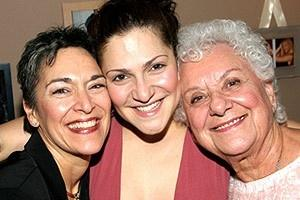 Stars Backstage at Wicked - mom - Shoshana Bean - grandma