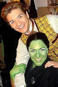 Backstage at Wicked (2/05) - David Ayers - Shoshana Bean