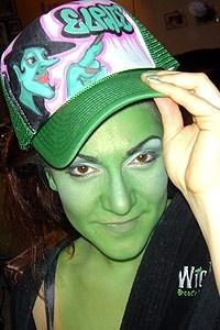 Backstage at Wicked (2/05) - Shoshana Bean
