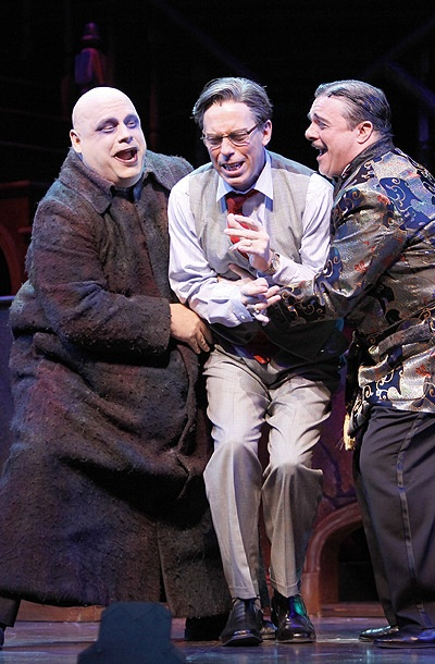 Show Photos - Addams Family (bway) - Kevin Chamberlin - Terrence Mann - Nathan Lane