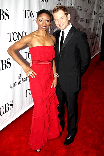 2010 Tony Awards Red Carpet – Montego Glover – Chad Kimball