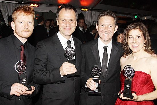 2010 Tony Ball  Christopher Oram  Michael Grandage  John Logan  Arielle Tepper Madover