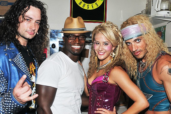 Taye Diggs at Rock of Ages  Constantine Maroulis  Taye Diggs  Ericka Hunter  James Carpinello