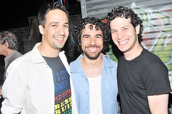 In the Heights 1000 Performances – Lin-Manuel Miranda – Alex Lacamoire – Thomas Kail