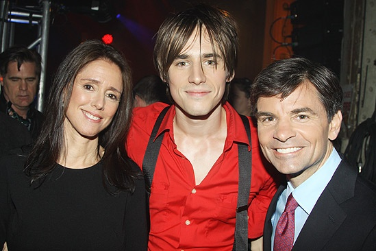 Spider-man GMA – Reeve Carney – Julie Taymor – George Stephanopoulos