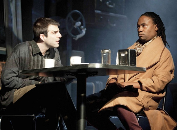 Show Photos - Angels in America - Zachary Quinto - Lewis Ironson