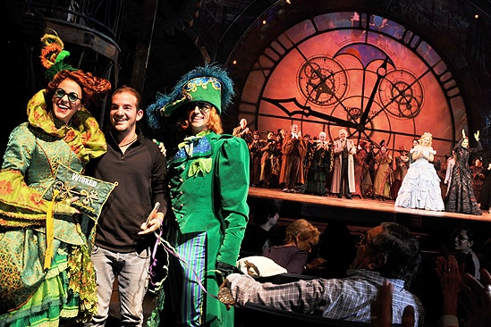 Wicked 5 Millionth Audience Member – Brett LaTorre