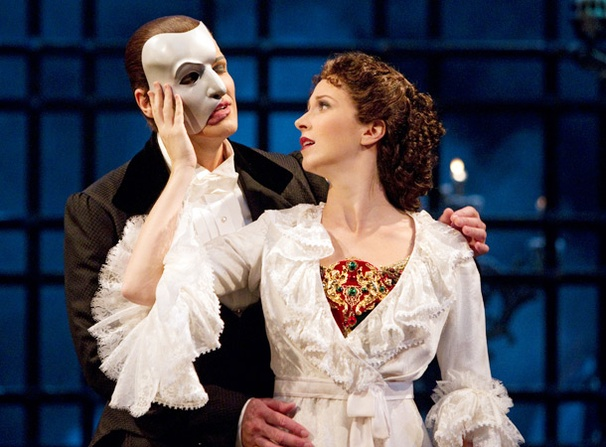 Show Photos - The Phantom of the Opera - Hugh Panaro - Sara Jean Ford