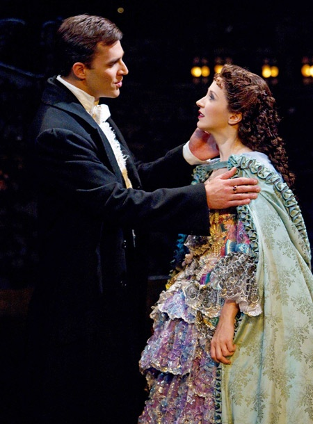 Show Photos - The Phantom of the Opera - Ryan Silverman - Sara Jean Ford