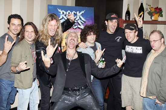 Dee Snider Rock of Ages opening night – Arsenal – Dee Snider