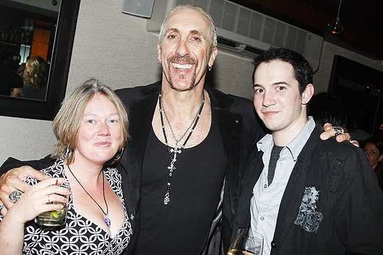 Dee Snider Rock of Ages opening night – Claudia Lynch – Dee snider – Matthew DiCarlo