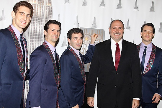 Jersey Boys at Empire State Building – Ryan Jesse – Dominic Nolfi – Jarrod Spector – Joseph Bellina – Matt Bogart