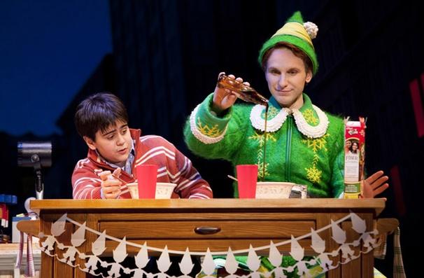 Show Photos - Elf - Matthew Gumley - Sebastian Arcelus