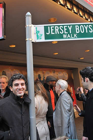Jersey Boys Fifth Anniversary  Jarrod Spector (sign)