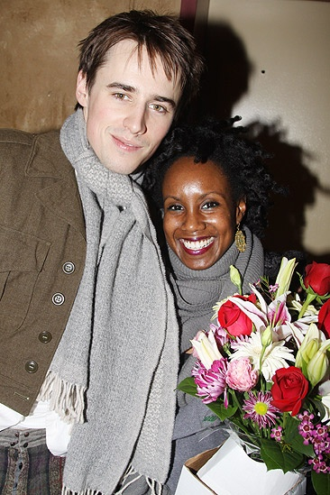 Spiderman preview  Reeve Carney - Ayo Janeen Jackson