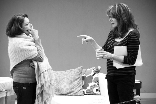Other Desert Cities Rehearsal – Linda Lavin – Stockard Channing