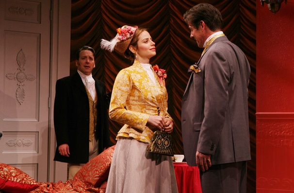 Show Photos - The New York Idea - Jeremy Shamos - Jaime Ray Newman - Rick Holmes