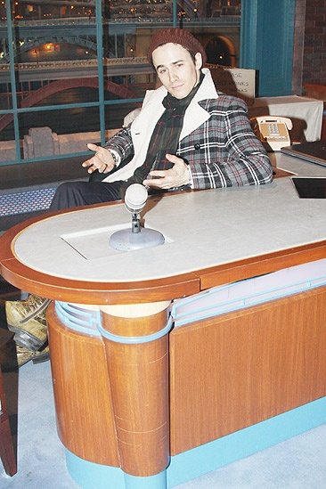 Spider-Man Letterman – Reeve Carney 3