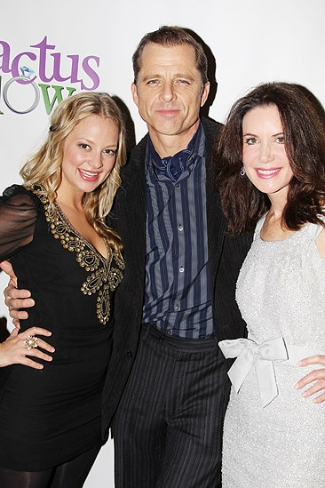 Cactus Flower Opening Night  Jenni Barber  Maxwell Caulfield  Lois Robbins