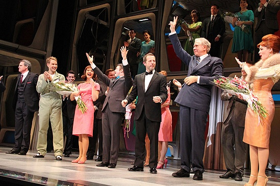 How to Succeed Opening Night – curtain call