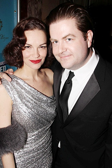 How to Succeed Opening Night  Tammy Blanchard  Paul Wontorek