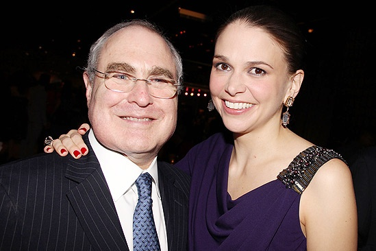 Anything Goes Opening Night – Todd Haimes – Sutton Foster