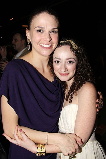 Anything Goes Opening Night – Sutton Foster – Megan McGinnis