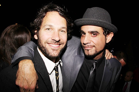 Motherf**ker Opening Night  Paul Rudd  Bobby Cannavale