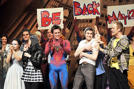 Spiderman Final – cast