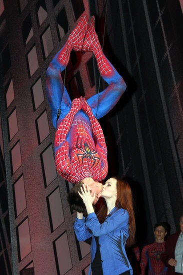 Spider-man final – Reeve Carney – Jennifer Damiano