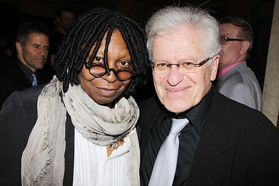 Sister Act Opening Night –  Whoopi Goldberg – Jerry Zaks