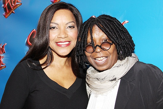 Sister Act Opening Night   Grace Hightower  Whoopi Goldberg