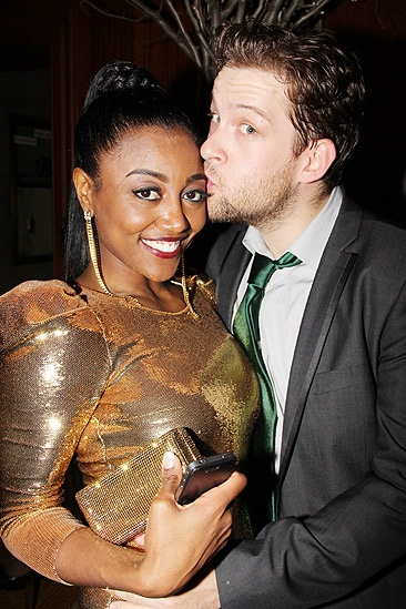 Sister Act Opening Night –  Patina Miller – Andrew Kober