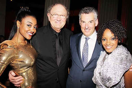 Sister Act Opening Night   Patina Miller  Joop Van Den Ende  tktkt  Zodwa Selele