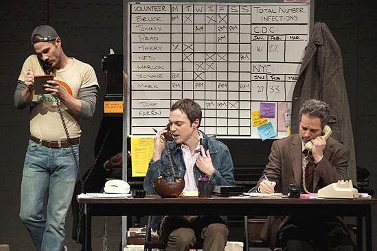 Show Photos - The Normal Heart - Luke Macfarlane - Jim Parsons - Patrick Breen