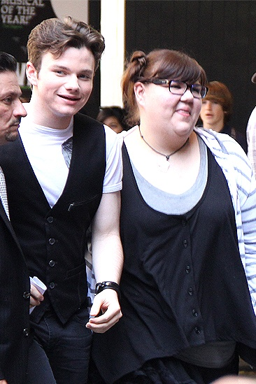 Glee NYC – Chris Colfer – Ashley Fink