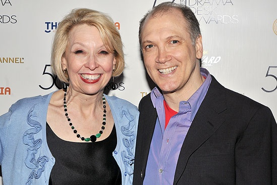 Drama Desk Awards Cocktail Reception Julie Halston  Charles Busch 