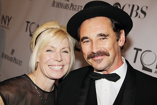 2011 Tony Awards Red Carpet – Mark Rylance - Claire Van Kampen